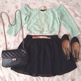 bag shirt jewels shoes skirt top blouse t-shirt