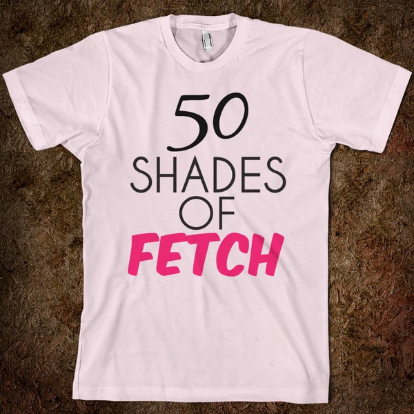 t-shirt 50 shades of fetch fetch mean girls gretchen weiners pink by victorias secret