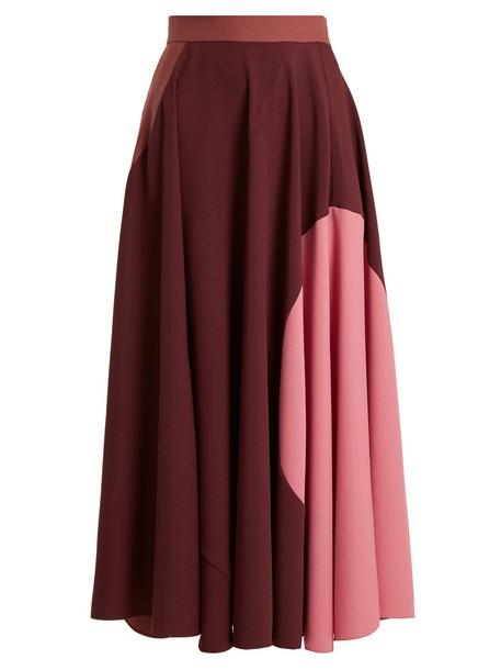 Roksanda skirt burgundy