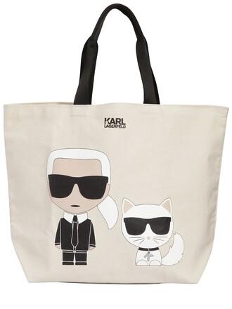 bag tote bag cotton white