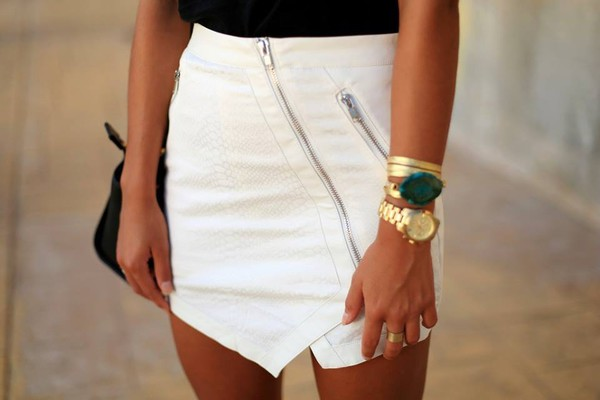 skirt jewels ring bracelets watch