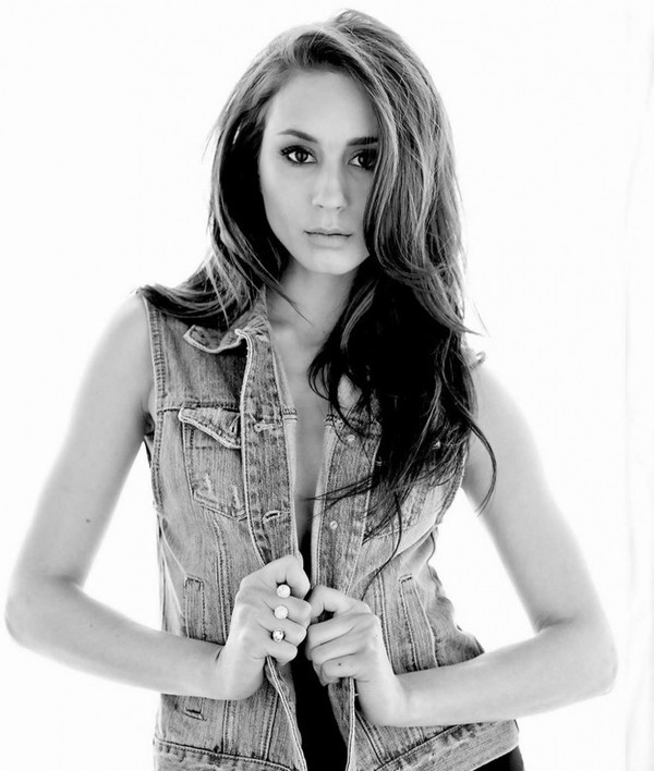 jacket denim jacket denim vest vest troian bellisario