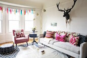 the clothes,blogger,lamp,pillow,home decor,deer,home accessory,hipster,sofa,home furniture,wall decor,decorative cushions