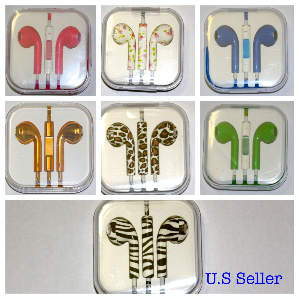 Cellphone iPhone Multicolor stylish Headphone Earbuds Earphone Headset