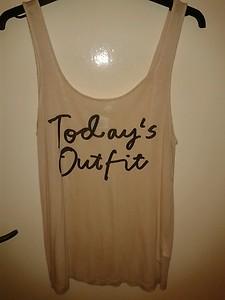 "Bnwot fab h&m vest top ""todays outfit"""