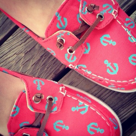 shoes red shoes pink shoes coral turquoise
