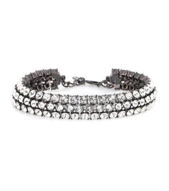 oscar de la renta embellished white jewels