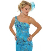 dress,curvy,turquoise,multicolor,stockings