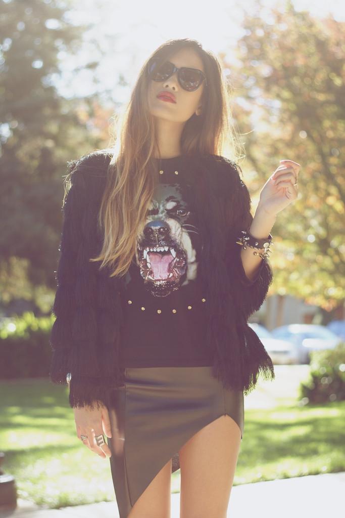Givenchic rottweiler dog tank top – glamzelle