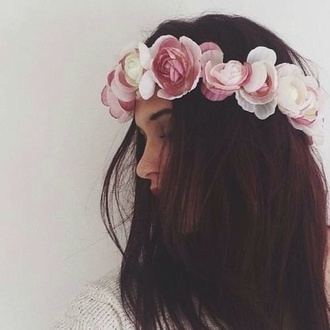 hat head roses hipster wedding jewels flower crown rose crown flowers floral hair crown hair band hair accessory hairstyles