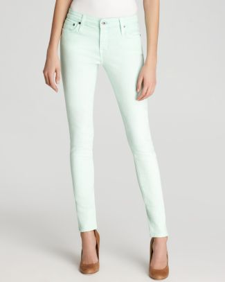 Big Star Jeans - Remy Low Rise Skinny in Mint | Bloomingdale's
