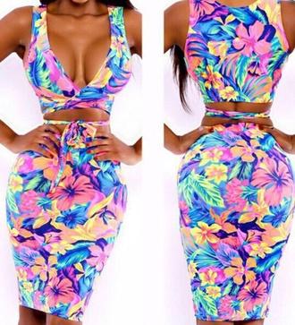 dress floral summer floral dress