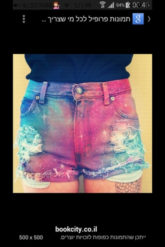 ripped distressed stars anazinf style amazing girly modern edgy ripped/distressed/destroyed jean shorts