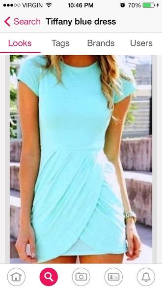 dress tiffany blue turquoise dress mint dress summer dress