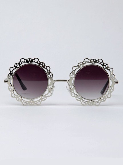 sunglasses round sunglasses tinted sliver frame sliver fashion style tinted sunglasses sliver jewelry accessories