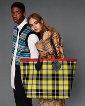 top,white top,coat,vest,pants,black pants,handbag,jacket,bag