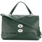 Zanellato - boxy tote bag - women - leather - one size, green, leather