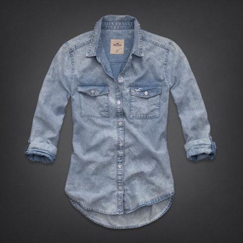 Emma wood denim shirt