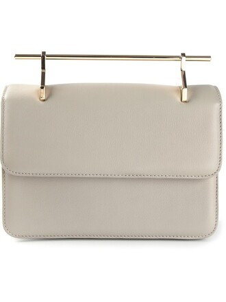 fleur bag shoulder bag grey