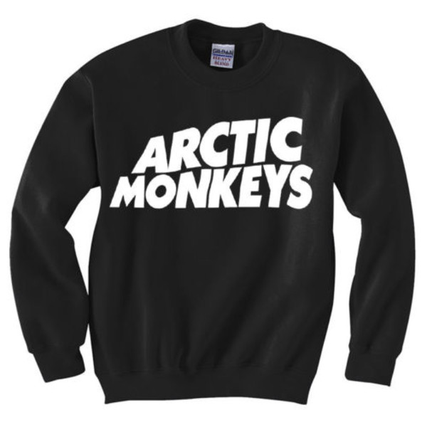 sweater sweatshirt arctic monkeys band t-shirt shirt