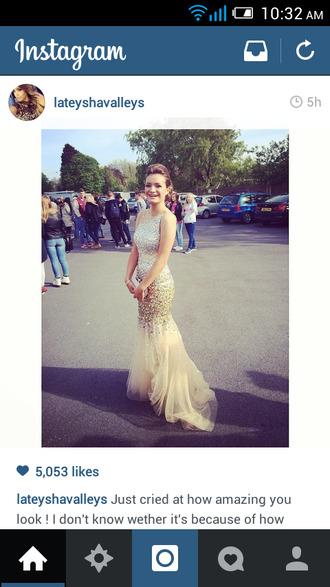 dress gown prom dress crystal dress crystal dress jovani ball gown dress evening dress starry night