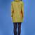 Inuit: ultra light and warm citrus lime-orange boiled wool jacket. | (n-1) couture.