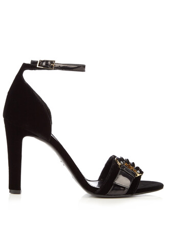 velvet sandals sandals velvet black shoes