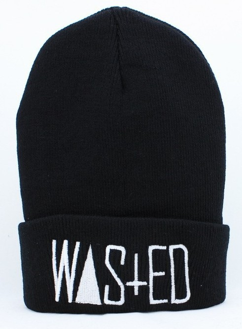 Fashion Wasted Beanie hat, winter knitted beanie caps and hats for man and women,HT0135-in Skullies & Beanies from Apparel & Accessories on Aliexpress.com