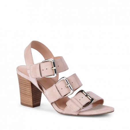 Sole Society - Suede sandals - Sable - Frappe