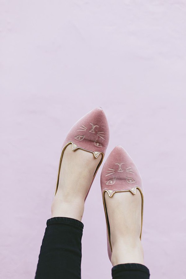 shoes ballerina cats pink ballet flats pointed flats suede shoes pointed toe flats