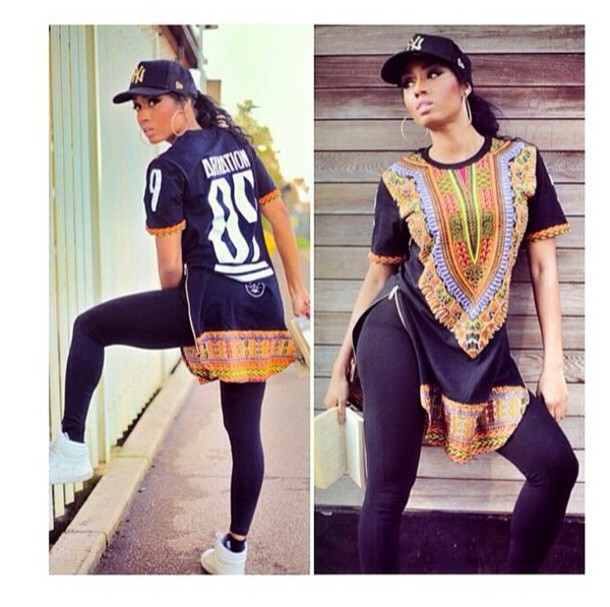 blouse leggings jewels top t-shirt graphic tee ariation streetwear african style dashiki urban african print dope black long top zipped on the side shirt