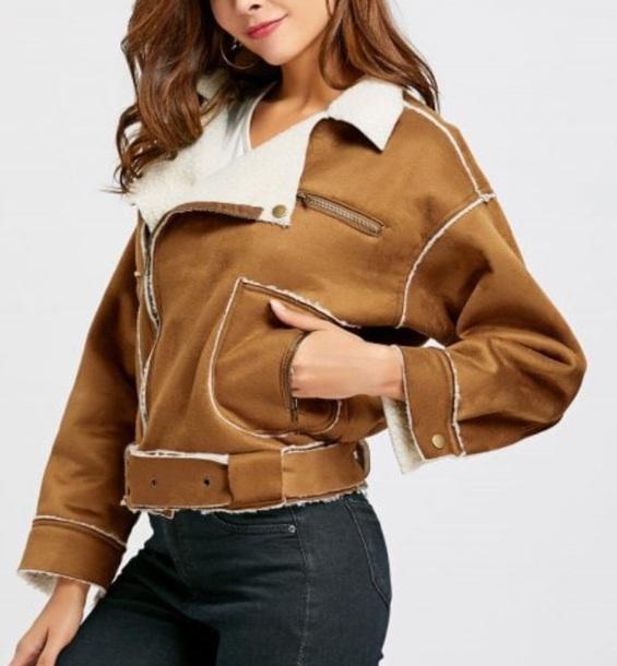 jacket girly brown fur fur coat fur jacket faux fur faux fur jacket