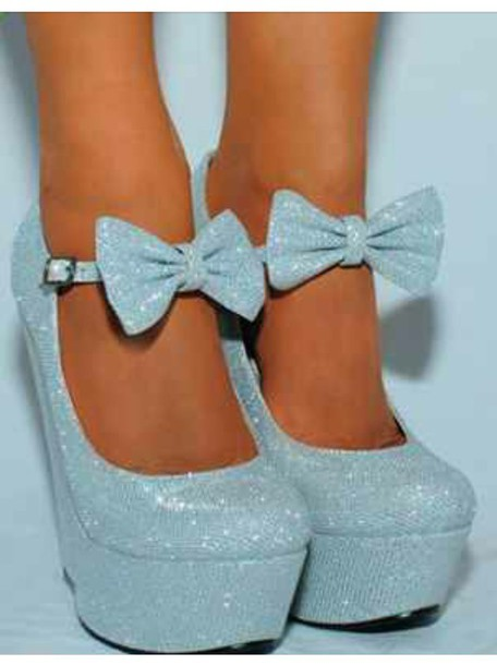 Shoes: baby blue light blue blue heels heels mary janes mary