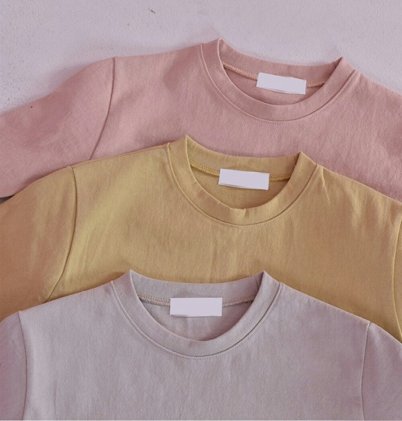 shirt pastel pink yellow purple t-shirt