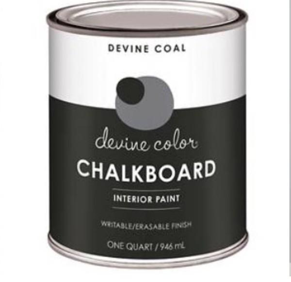 home accessory chalk black