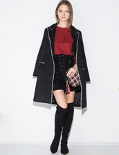 coat,jovonna royston wool blend tailored coat,wool blend coat,tailored coat,jovonna london,black coat,winter coat,fall coat,cute winter coat,warm coat,black coats for winter