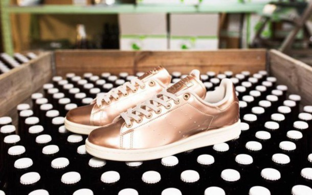 shoes adidas stan smiths adidas stan smiths rose gold trainers sneakers