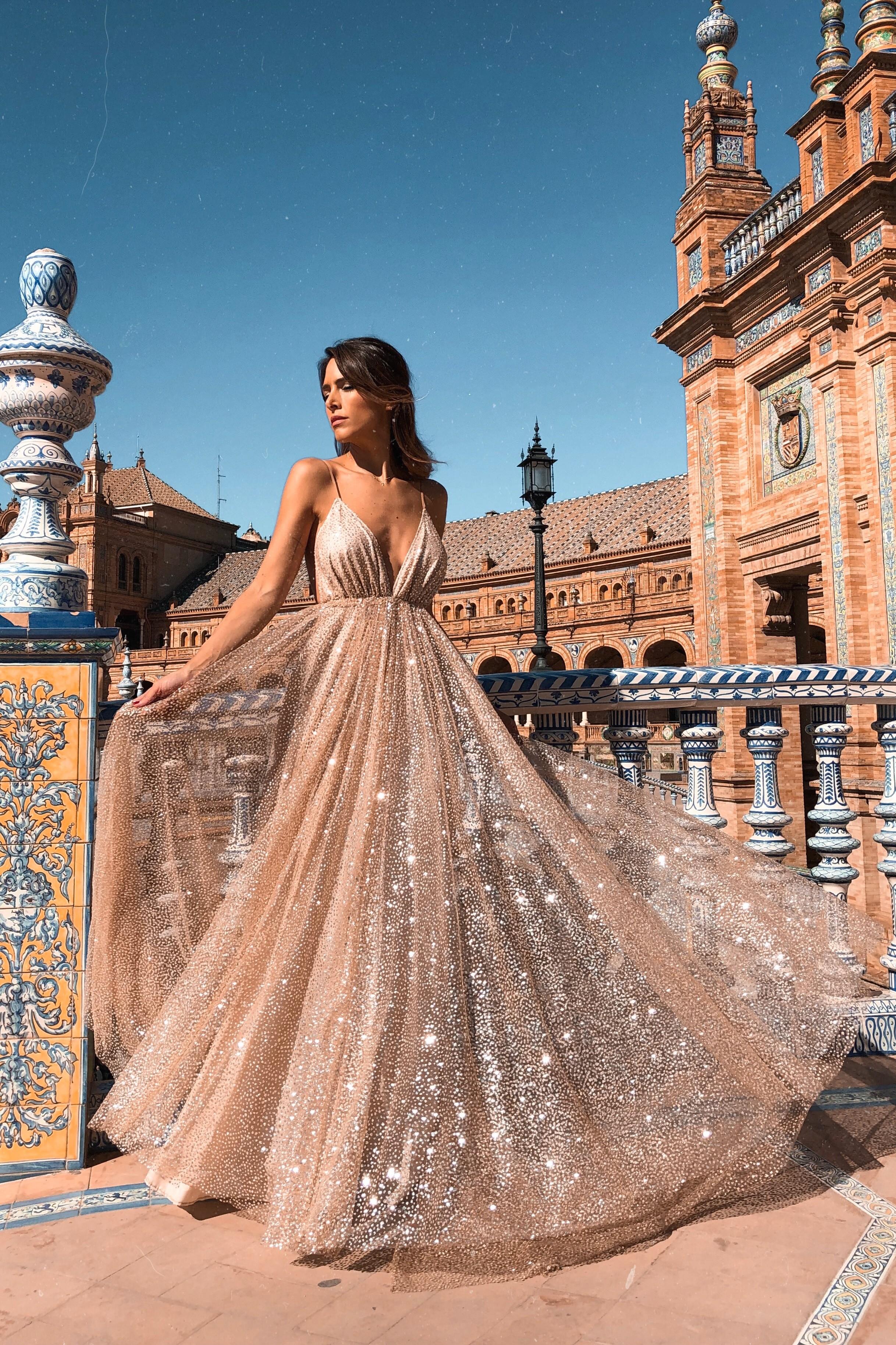 VESTIDO ÁGATA - Rocío Osorno - Diseñadora de moda - Sevilla
