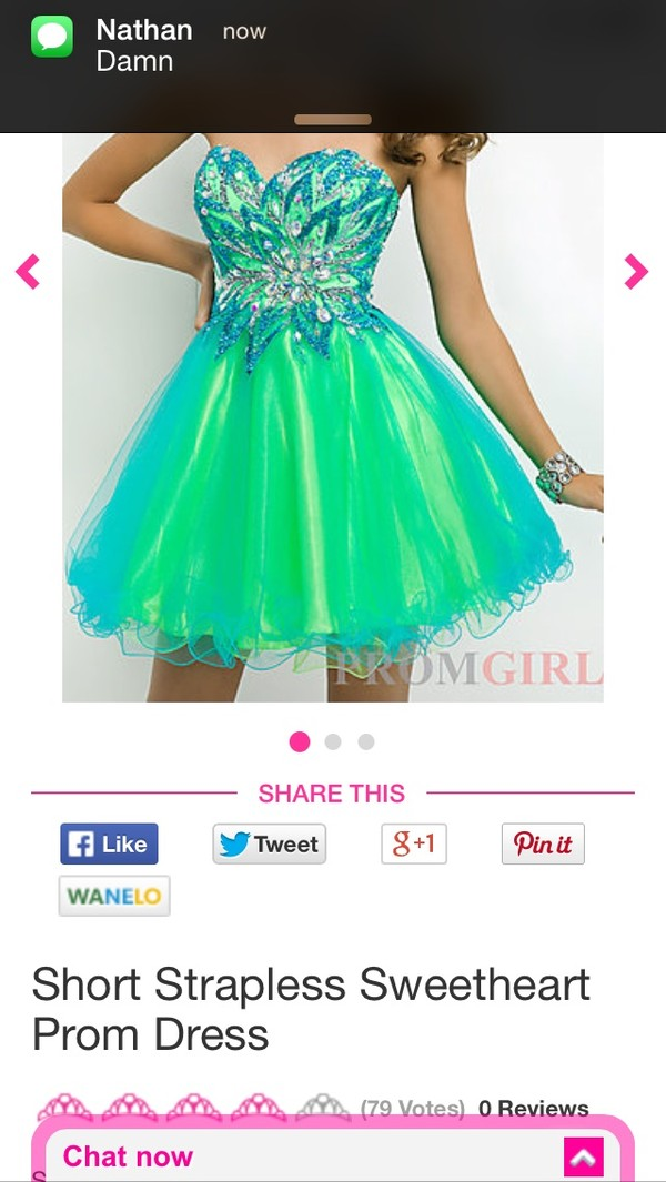 dress cheap neon social prom dress short blue colorful neon