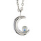 Witching hour necklace silver