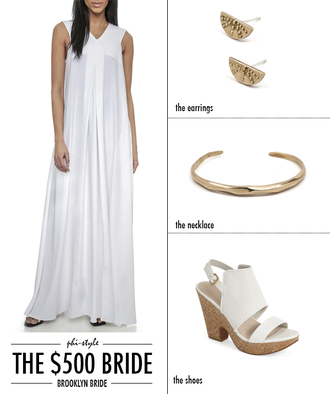 bklyn bride blogger dress jewels shoes