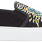 Kenzo black limited edition geo tiger k-skate slip-on sneakers