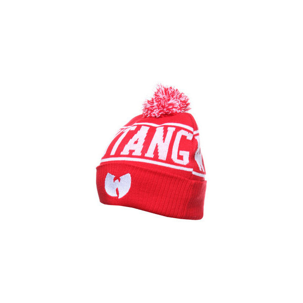 Rocksmith x Wu-Tang Clan - Wutang OG Skully Bobble Beanie |... - Polyvore