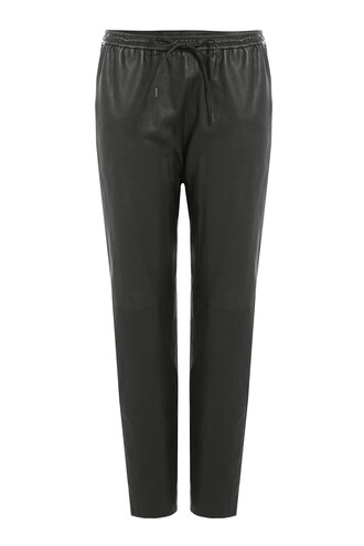 pants leather pants leather black
