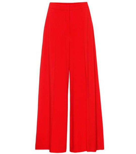 Stella McCartney red pants