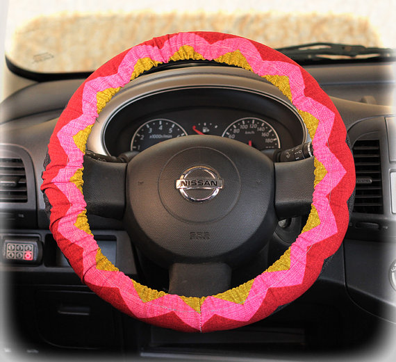 Items Similar To Steering Wheel Cover Bow Wheel Car Accessories Lilly Heated For Girls Interior
