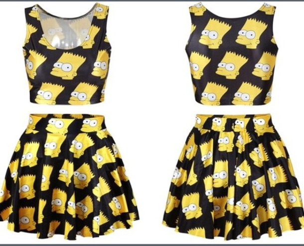 dress simpso