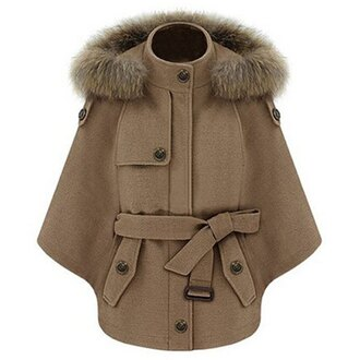 jacket fashion coat warm fall outfits brown long sleeves winter outfits trendsgal.com