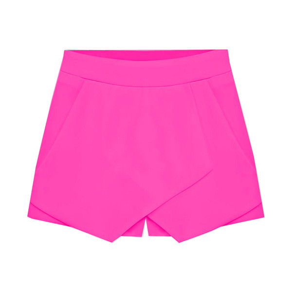 """field of dreams"" hot pink skort shorts (4 colors available) – glamzelle"
