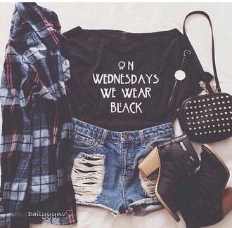 shirt american horror story ahs americanhorrorstorycoven mean girls black t-shirt black shirt black crop top bag